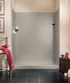Swanstone Solid Surface Shower Wall Kit X X
