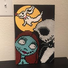 Nightmare Before Christmas perler beads by itsjessthegr8