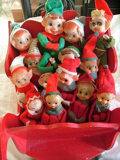 Vintage elves