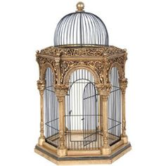 Elegant Victorian Style Decorative Birdcage