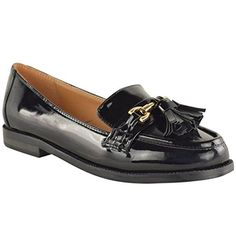 Fashion Thirsty Womens Flat Loafers Patent Faux Leather Smart Casual Tassel Shoes Size 8 Fashion Thirsty http://www.amazon.com/dp/B00UX79DZS/ref=cm_sw_r_pi_dp_XJKLwb1448XYP