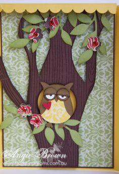 Too cute owl card.