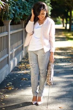 Alana Marie Style: Grey and Pink Trend