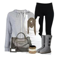 Sexy winter outfit