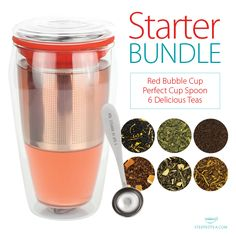 The ultimate bundle for those who are new to loose leaf; the Starter Bundle!
