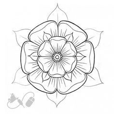 White Roses, White Flowers, Red Roses, England Tattoo, Aztec History, Old School Rose, White Rose Tattoos, Tudor Rose, Felt Brooch