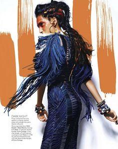 """Free Spirit"" Vogue Índia Março 2012"