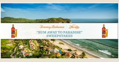 """Enter the @TommyBahama """"Rum Away to Paradise"""" Sweepstakes for a chance to win a 5-day trip for 2 at the Mukul Resort! Ends 12/31/15."""
