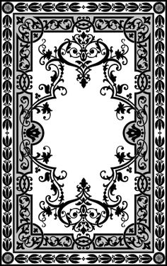 Custom Patterns And Stencils For Etching Faux Painting