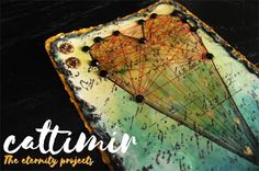 Cattimir - The eternity projects: #52cafecards, mixed media