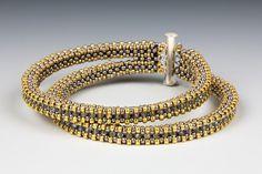 Double Tennis Bracelet by Jill Wiseman