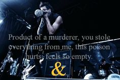 Of Mice and Men Lyrics | product of a murderer #of mice and men #lyrics #austin carlile