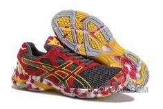 e0392ef7c48 Asics Gel Noosa Tri 7 Shoes Grey Red Yellow, Price: $85.00 - Air Jordan  Shoes, Michael Jordan Shoes