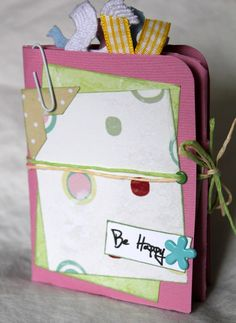 A Mini File Folder Photo Album