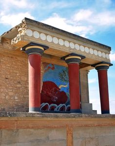 Knossos (Bronze Age), Crete Island