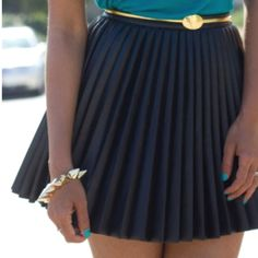 Pleated skirts for Spring!