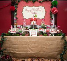 Woodland Party Inspiration by Bella Bella Studios ~ photo via Kara's Party Ideas website.