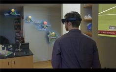There's virtual reality and augmented reality. Microsoft is imagining something similar, but not via a headset. Instead, this is an immersive holographic experience. Yes, the experience is called Windows Holographic, but it works via a device Microsoft calls the HoloLens, which debuted at Microsoft's Windows 10 event today.