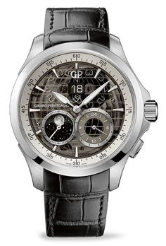 Girard-Perregaux Traveller Large Date, Moon Phases and GMT
