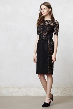 Someone please get me this.  It's only $260.  Carissima Sheath  #anthropologie