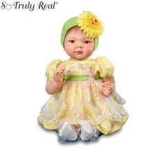 So Truly Real Growing Love Breast Cancer Awareness Baby Doll