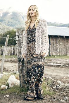 *Saco Melany *Vestido Kendall *Collar Siddi #FancyNomad #IndiaStyle #Colección #Lookbook #FW16