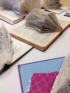 Book sculpture workshop