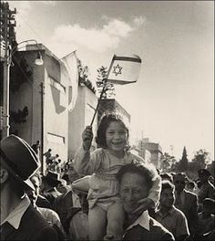 1948 at the Declaration of the State of Israel - those smiles say it all!!! WE ARE SO LUCKY TO HAVE OUR ONE AND ONLY JEWISH STATE IN THE WORLD!!! www.israelforever.org