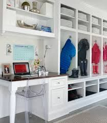long mudroom with desk - Google Search