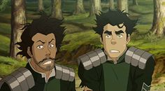 Bolin and Varrick. What is it with people's hair these past few episodes?