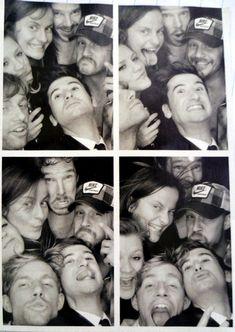 Benedict Cumberbatch, Tom Hardy, and friends.