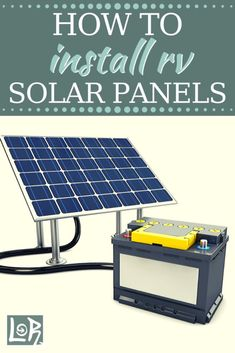 Learn The Most Important Thing To Learn About Solar Power. - Solar Energy Tips Rv Solar Panels, Solar Energy Panels, Off Grid Solar, Solar Power System, Solar Power Calculator, Diy Rv, Solar Projects, Solar Panel Installation, Alternative Energy