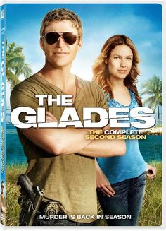 Season two of The Glades soon out on dvd. With Matt Passmore in the main role.