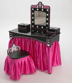 Cottage Blessings: A Vintage Vanity So Cute For A Little Girls Room! Would  Rather Have A Prettier Mirror | My Daughter Shonarau0027s Room | Pinterest |  Vintage ...