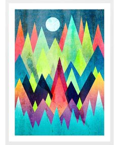 Land of northern lights as Framed Art Print by Elisabeth Fredriksson | Art. Everywhere.