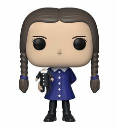 From the Addams family, Wednesday, as a stylized POP vinyl from Funko! Stylized collectable stands 3 ¾ inches tall, perfect for any The Addams family Fan! Collect and display all The Addams family pop! Funko Pop Figures, Vinyl Figures, Action Figures, Addams Family Wednesday, Creepy People, Creepy Things, Creepy Stuff, Halloween Bark, Christmas Bark