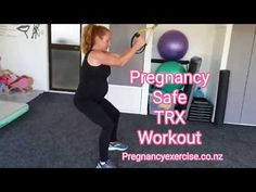 Here are four full-body Pregnancy Exercises that are safe to do during each trimester using a suspension trainer. Always ensure you have the proper technique