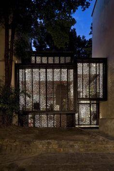 Maison Escalier, Paris, France; designed by Moussafir Architectes Architecture