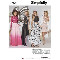 Items similar to Sewing Pattern Formal Dress Pattern, Formal 2 Piece Dress Pattern, Prom Dress Pattern, Formal Skirt Pattern, Simplicity Sewing Pattern 8328 on Etsy Formal Dress Patterns, Dress Sewing Patterns, Clothes Patterns, Formal Skirt And Top, Dress Clothes For Women, Gowns Of Elegance, Simplicity Sewing Patterns, Prom Dresses, Formal Dresses