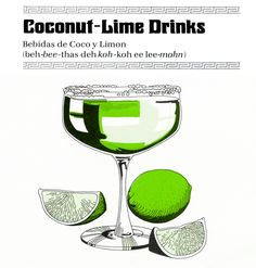 coconut lime drinks