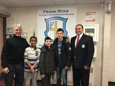 """Frank Ryan greets a new family from Syria. Welcome to Canada and our great school community. School Community, Great Schools, Syria, Embedded Image Permalink, Citizen, Catholic, Students, Canada, Twitter"