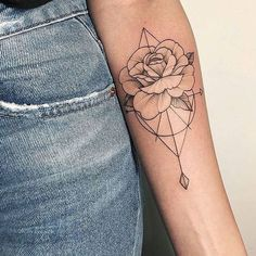 Fun, creative, rebellious, many people love getting tattoos and use them as a platform for self-expression. Tattoos can be satisfying both physically while looking at them and mentally when you con… Arrow Tattoos, Mini Tattoos, Trendy Tattoos, Forearm Tattoos, Cute Tattoos, Beautiful Tattoos, Body Art Tattoos, New Tattoos, Small Tattoos