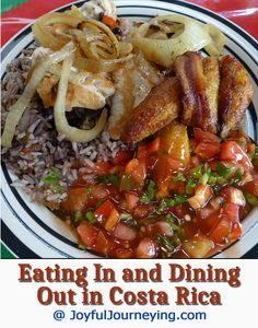Costa Rica Travel Tip: What to eat in Costa Rica, if you dine out or if you cook for yourself.