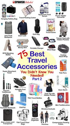 75 Best Travel Essentials - Gift ideas for travel lovers You'll love these must-have travel accessories! These travel essentials will definitely make your trip so much more comf. Restaurants In Paris, Packing Tips For Travel, Budget Travel, Travel Ideas, Travel Hacks, Travelling Tips, International Travel Packing List, Best Travel Gadgets, Road Trip Packing
