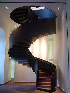 Cool architecture. I would love this staircase in my house!