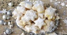 Christmas Cookies, Cauliflower, Stuffed Mushrooms, Food And Drink, Cooking Recipes, Yummy Food, Vegetables, Sweet, Desserts