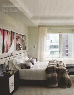 *Bed*  Naula featured in {Elle Decor issue September 2012} as furniture manufacturer for Kelly Behun, interior designer for Ivanka Trump. www.naulaworkshop... #interiordesign #decor #furniture #sofa #modern #design #naula #naulaworkshop #trump #ivanktrump #behun #interiors #elledecor #magazine #table #sofa