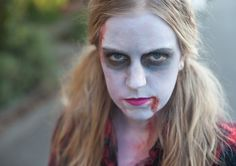 Even if you wait until the last minute, there are great DIY Halloween costumes you can create with makeup.