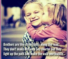 It's great to have BROTHERS like you, who are wonderful persons and the best friends, too.I cant live without you because i love you so much bro Tag/mention your brother 💜💛💙💚 Brother Sister Relationship Quotes, Love My Brother Quotes, Brother And Sister Love, Sibling Quotes, Family Quotes, Anna, Because I Love You, Amazing Quotes, True Quotes
