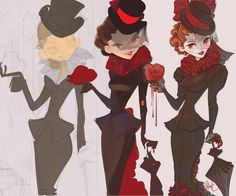 Otto schmidt - Character Design Page Female Character Design, Character Concept, Concept Art, Character Illustration, Illustration Art, Mina Harker, Steampunk Illustration, Otto Schmidt, My Pool
